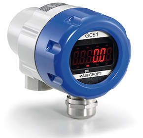 GC51 Rangeable Indicating Pressure Transmitter