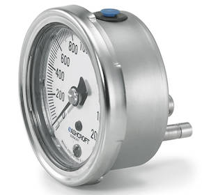 1009 Duralife 2.5/3.5 Inch Pressure Gauge