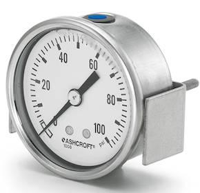 1008S/SL 63/100 mm Pressure Gauge Center Back Connection Only